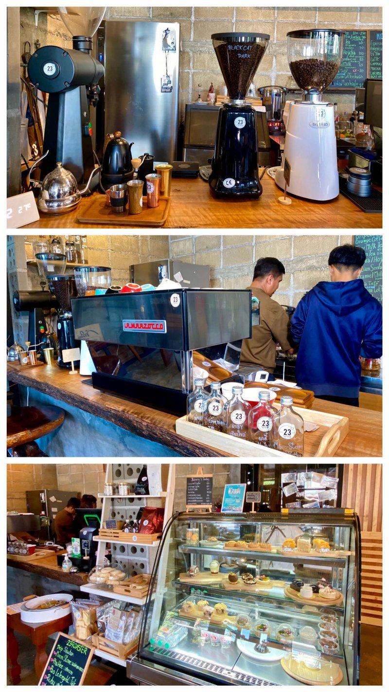 ร้านกาแฟ กระบี่